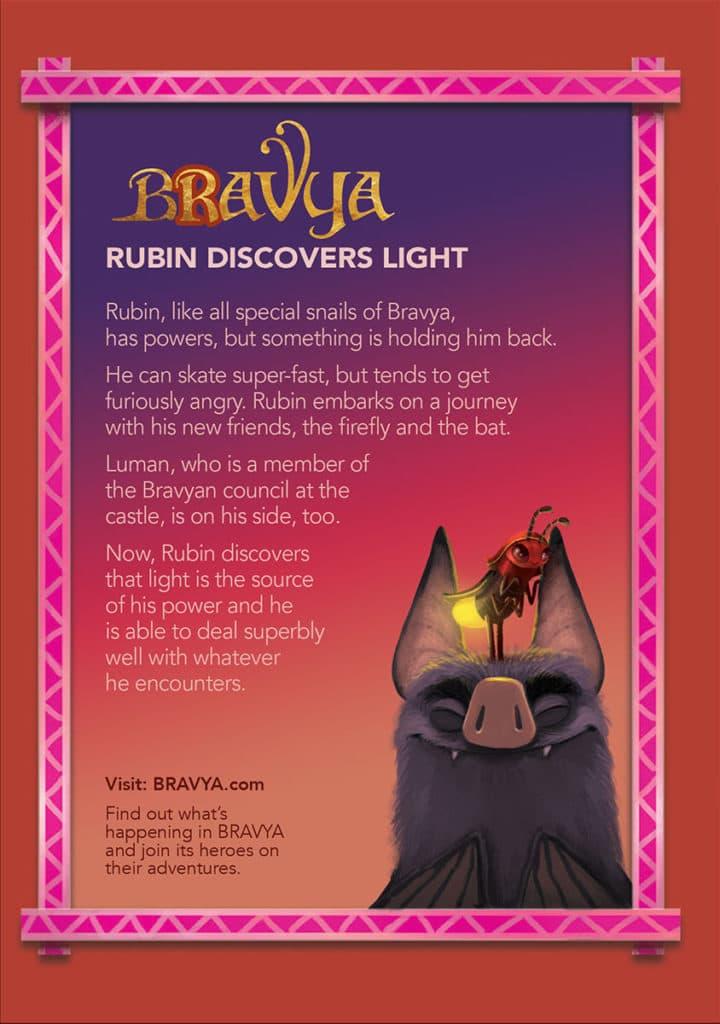 Rubin Discovers Light - Back Cover