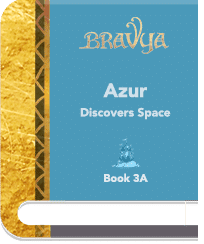 Book 3A – Azur Discovers Space